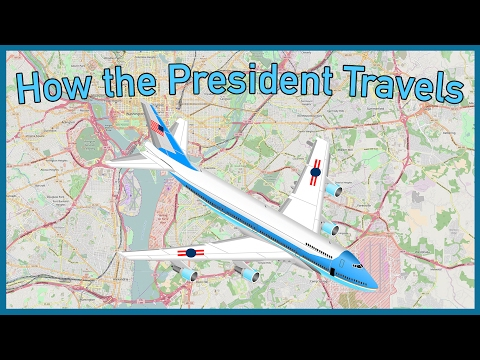 The US President's $2,614 Per Minute Transport System