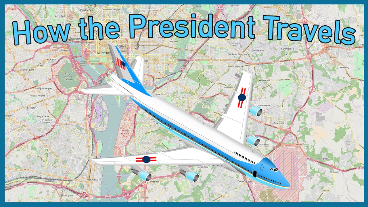 The US Presidents Per Minute Transport System YouTube - Us president tree map