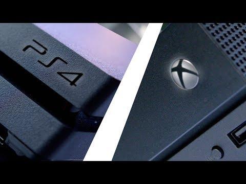 PS4 Pro vs Xbox One X!