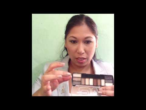 Naked Basics dupe aka L.A. Colors Blushing nudes palette review