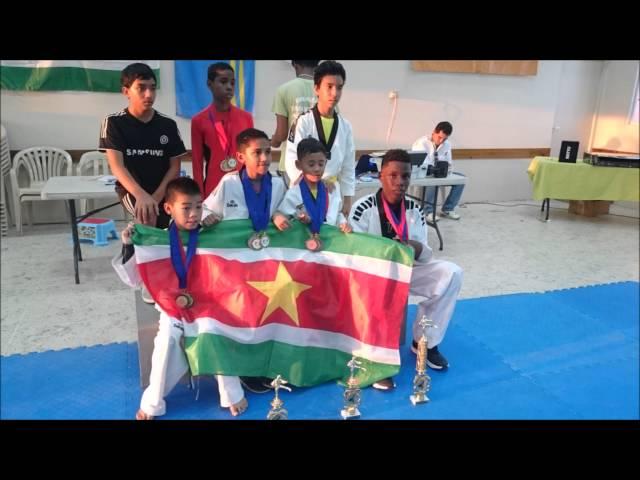 arthy lie's Taekwondo 2015_Aruba