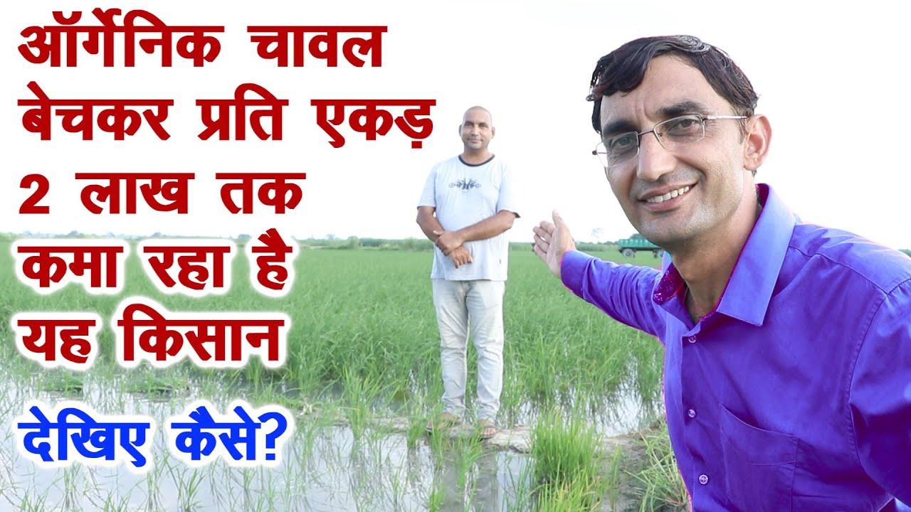 ऑर्गेनिक चावल बेचकर प्रति एकड़ 2 लाख तक कमाता है यह किसान, Paddy Organic Farming Progressive Farmer