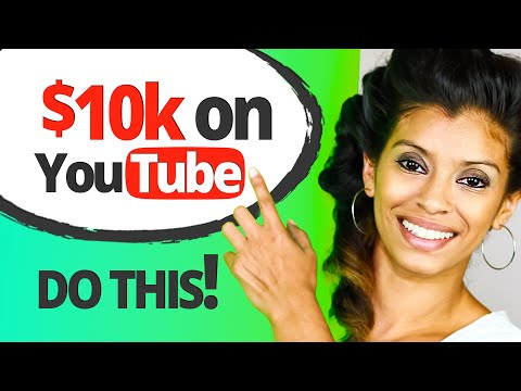 How To Make $10,000 Per Month On YouTube 🤑