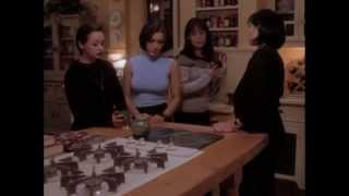 Hot and sexy Alyssa Milano, Shannen Doherty and Holly Marie Combs, Charmed S01 E07