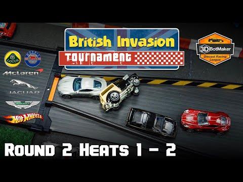 British Car Racing