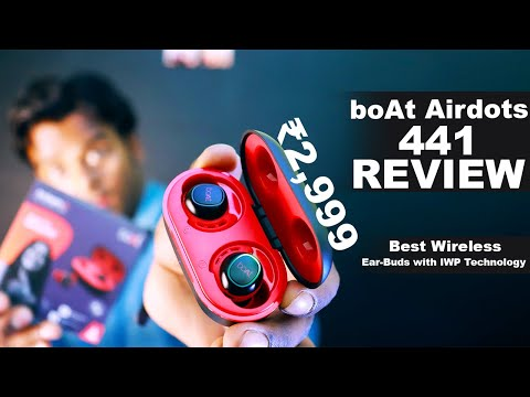 BoAt Airdopes 441 Wireless Ear-Bud REVIEW | Walkthrough & Calling Test | Best earbuds under 3000 INR