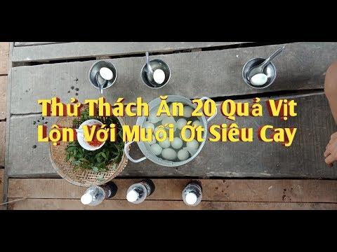 Thử Thách Ăn 20 Quả Họt Vịt Lộn - Bồ Câu TV