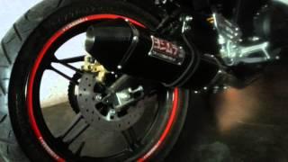 Yamaha R15 Knalpot (Yoshimura USA Carbon Full System)