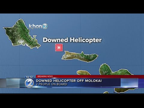 Coast Guard, Navy respond to downed helicopter off Molokai