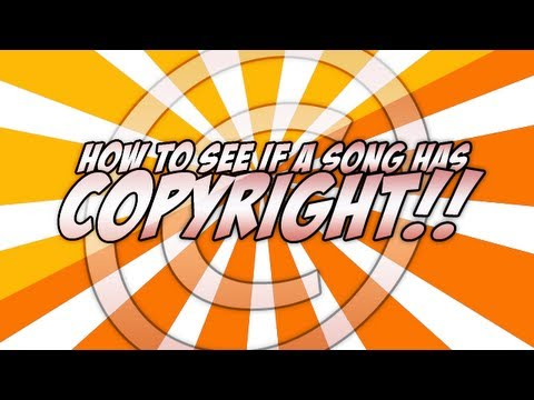How To See if a Song is Copyrighted (All Music)