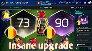 Top 5 tips & tricks to make your team 90+ in World cup mode in FIFA Mobile 18!!!