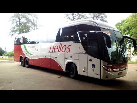 ANO NOVO ÔNIBUS NOVO - EMPRESA HELIOS - ROMA R8 CARRO 418