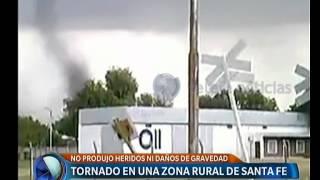 Tornado en Santa Fe  -  Telefe Noticias