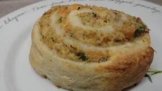 Baked Salmon/tuna Rolls