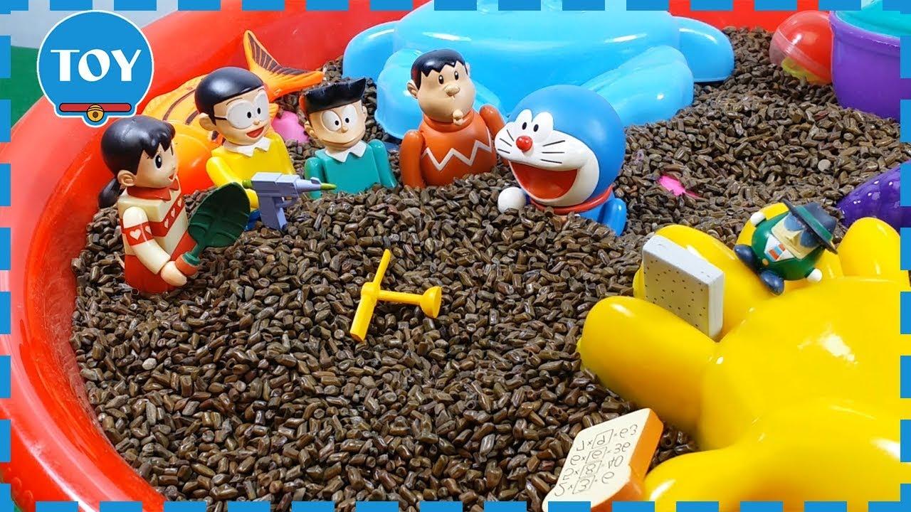 Đồ chơi Doremon – cùng Nobita tìm bảo bối thần kỳ tí hon