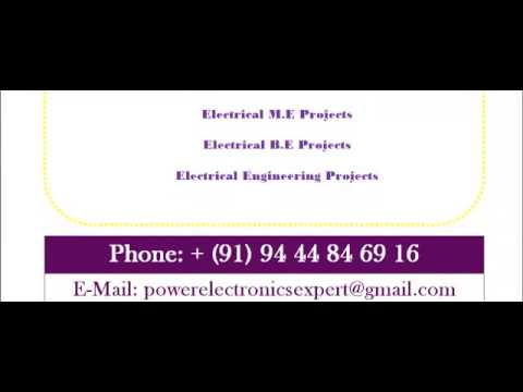 PROJECTS IN ELECTRICAL IN GUJARAT