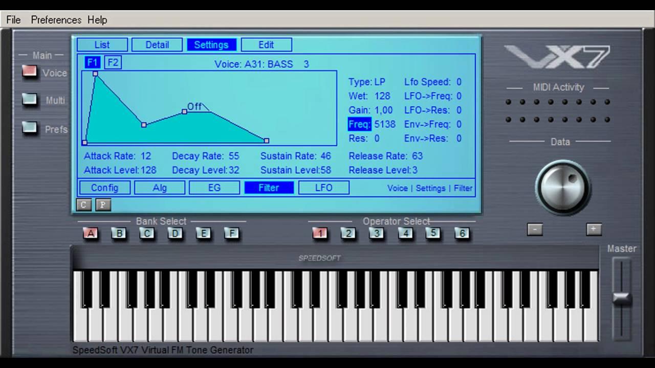Free Yamaha SY77 Synthesizer Workstation VST Emulation