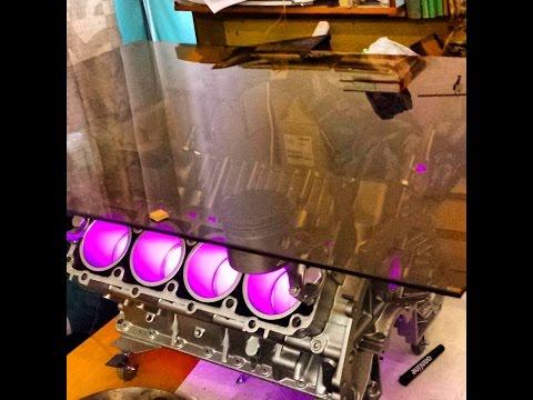 Engine coffetable building - Постройка стола из двигателя.