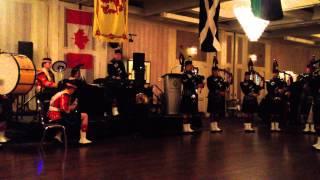 The Calgary Highlanders Robbie Burns Dinner Entertainment. 2014