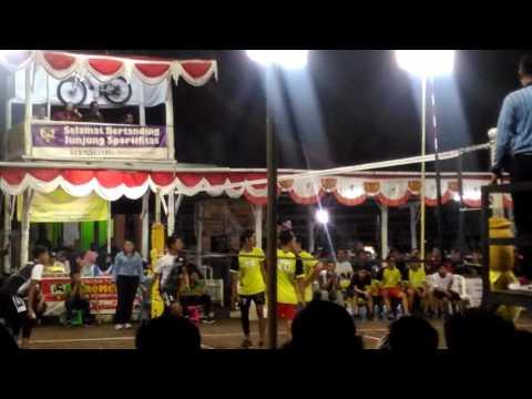 Putra Kresna ( Serut ) vs De-Javu ( Krikilan ) Bromonilan Cup 1 20 Maret 2017