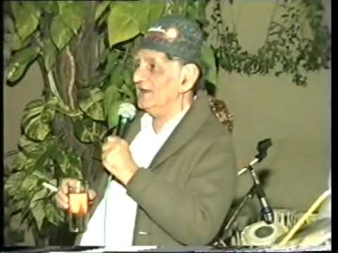 Anand Bakshi, Singing at Mehta Birthday - Part 1 (Kati Patang / Alag Alag)