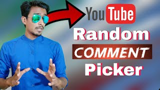 How to Youtube Randomly Comment picker use by itech