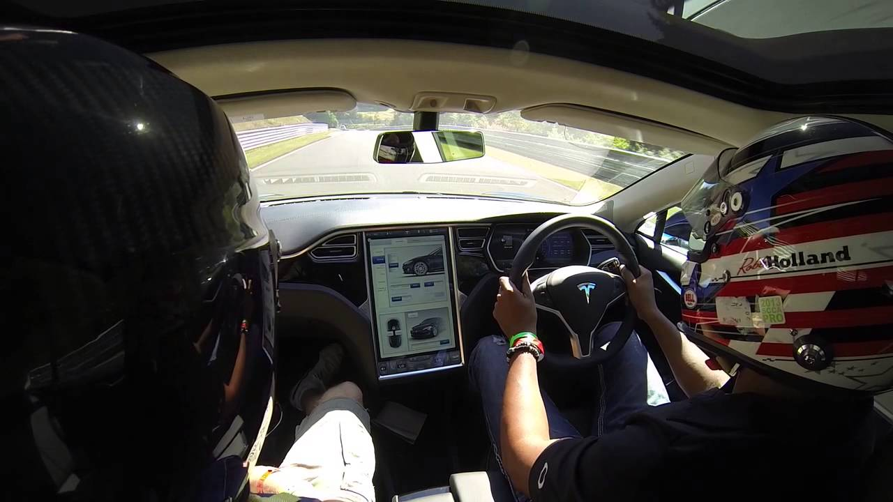 Here's What A Tesla Model S Can Do Around The Nürburgring