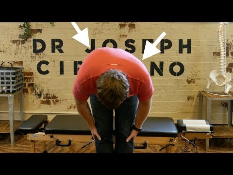 *SEVERE SCOLIOSIS* Relief after Y-STRAP Chiropractic Adjustment by  Dr Joseph Cipriano thumbnail