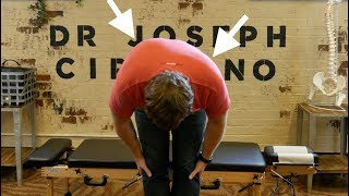 *SEVERE SCOLIOSIS* Relief after Y-STRAP Chiropractic Adjustment by  Dr Joseph Cipriano