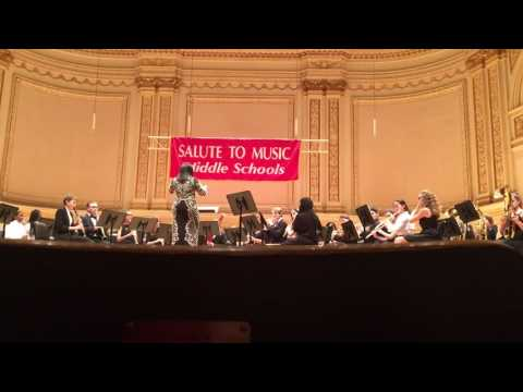 Brooklyn borough-wide concert band at Carnegie Hall