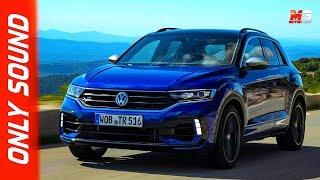 New volkswagen t-roc r 2020 - first test drive only sound