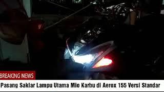 [TUTORIAL] PASANG SAKLAR YAMAHA MIO KARBU DI YAMAHA AEROX 155 (Versi Standar)