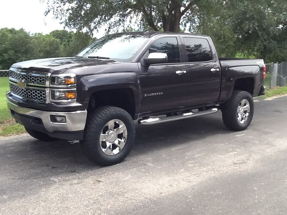 "7"" Lift: 2014 Chevrolet Silverado - YouTube"