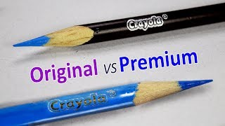 CRAYOLA SIGNATURE SERIES VS THE ORIGINAL CRAYOLA