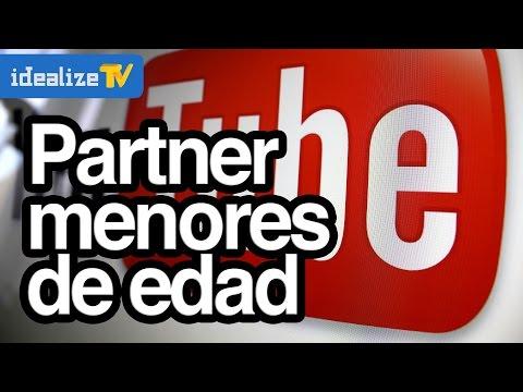 Si soy menor de edad como puedo ser partner de Youtube