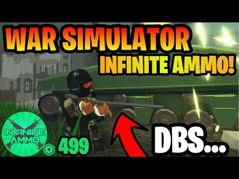Roblox War Simulator: Infinite Ammo Gamepass *I BROKE THE GAME* (Roblox War Simulator)