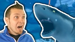 SHARK ATTACK! 😱  How To Catch The RARE Shark In Nintendo Labo Fishing!