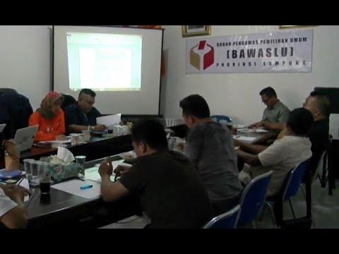 Bawaslu Lampung Menemukan Dugaan Poliitik Uang