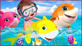 🔴 Baby Shark , Candy Song , Wheels on the Bus , Happy Birthday Song - Banana Cartoon