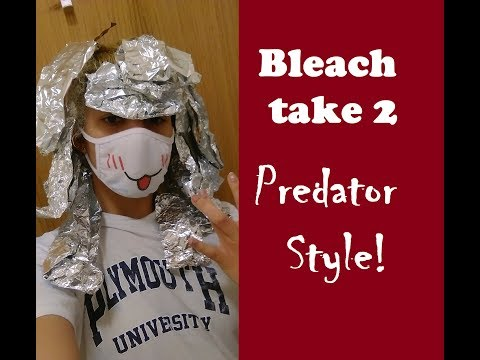 I AM PREDATOR! | Black Hair's Struggle to Blonde part 2 thumbnail
