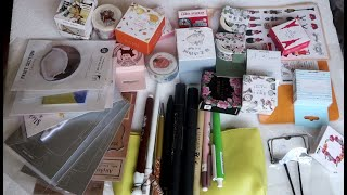 Mystery bag unboxing | AliExpress Cute Stationery Haul ! Jan 2019