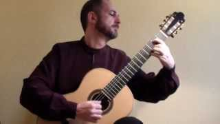 Xavier Coll, Guitar: Bach Cello Suite No. 6. Sarabande