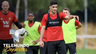 Raúl Jiménez ya reportó con su nuevo club en la Premier League | Premier League | Telemundo Deportes