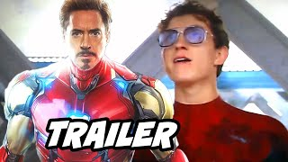 Spider-Man Far From Home Trailer - Re Release Extended Edition Footage Breakdown