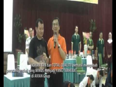 JOHAN YAN & BUDIONO LIE : Agent of Change Community TOTAL QUALITY INDONESIA