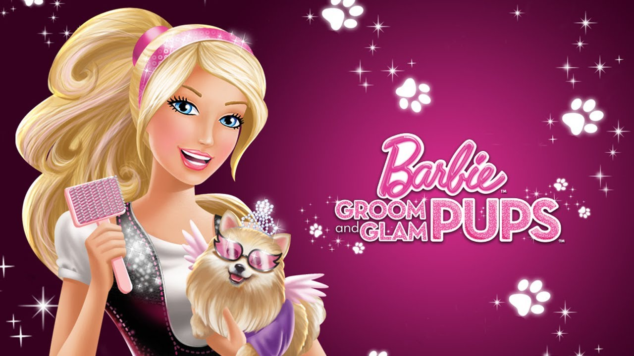 Barbie Groom and Glam Pups: Plumby - PART 1 - Game …
