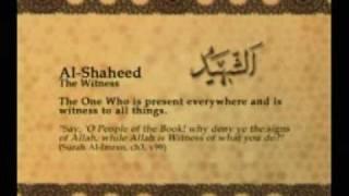 Names of Allah - Al Shaheed