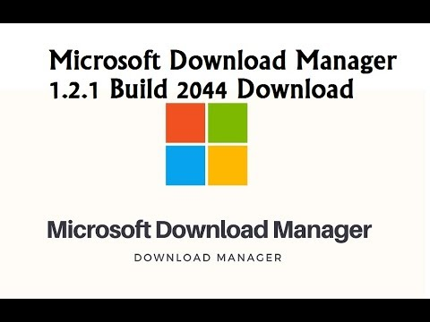 Microsoft Download Manager 1 2 1 Build 2044 Download