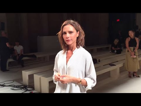 5 Questions With Victoria Beckham At NYFW SS17