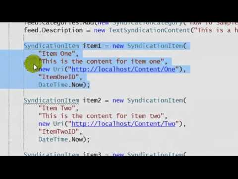 How to create an RSS Feed with MVC Web API